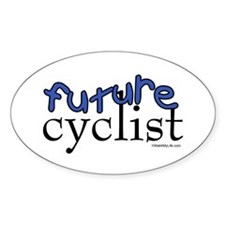 Future Cyclist Oval Decal