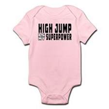 High Jump Is My Superpower Infant Bodysuit