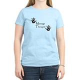 Handprints Women's Pink T-Shirt