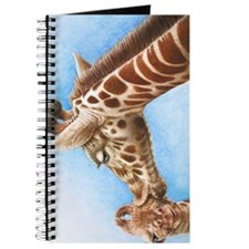 Giraffe and Calf Nexus Phone Case Journal