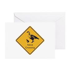 Nene Crossing, Hawaii (US) Greeting Cards (Package