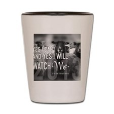 2013 Yes I Can Shot Glass