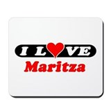I Love Maritza Mousepad