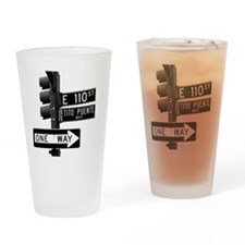 Tito Puente Mambo King NYC, NY Drinking Glass