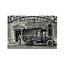 1925 United States Special Delive Rectangle Magnet