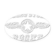 FIELDS STORE ROCKS Oval Car Magnet