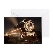 Holiday Train 1.57 Greeting Card