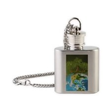 pon_puzzle Flask Necklace