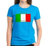 Italy Italian Flag Women's Dark T-Shirt