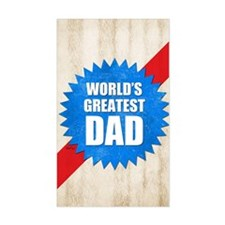 Worlds Greatest Dad Decal