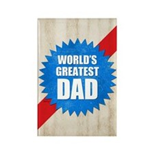 Worlds Greatest Dad Rectangle Magnet