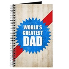 Worlds Greatest Dad Journal