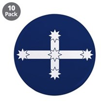 Eureka Flag Of Australia 3.5&Quot; Button (10 Pack