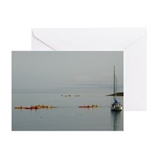 Bar Harbor Kayaks Greeting Cards (Pk of 10)
