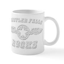 SCHUYLER FALLS ROCKS Small Mug