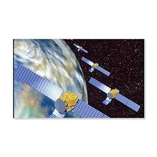 Communication satellites Wall Decal