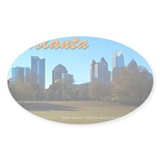 Atlanta Skyline Decal