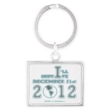 Survive December 21, 2012 Landscape Keychain
