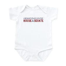 Woman's Place Infant Bodysuit