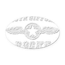SOUTH GIFFORD ROCKS Oval Car Magnet