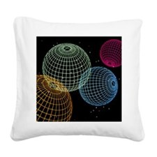 Computer graphics image of 4  Square Canvas Pillow