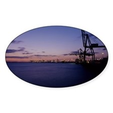 Container cranes Decal