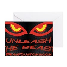 Unleash Wall Greeting Card