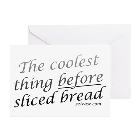 Before Sliced Bread Greeting Cards (Pk of 10)