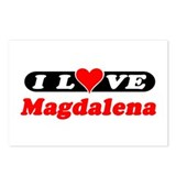 I Love Magdalena Postcards (Package of 8)