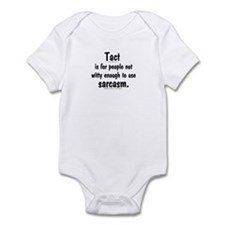 Tact/Sarcasm. Infant Bodysuit