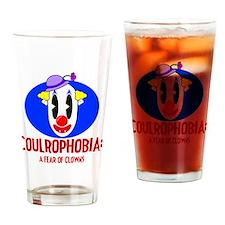 Phobia Shirts Clowns Drinking Glass
