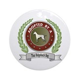 Ridgeback Adopted Ornament (Round)