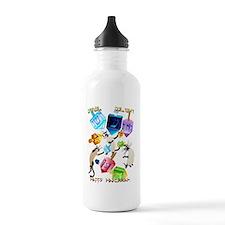 Delightful Dreidels-le Water Bottle
