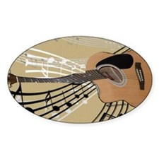 Abstract Guitar Decal