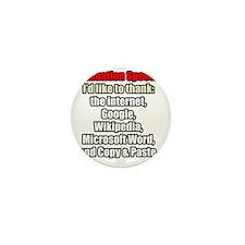 GRADUATION SPEECH Mini Button