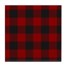 MacGregor Rob Roy Tartan Shower Curta Tile Coaster