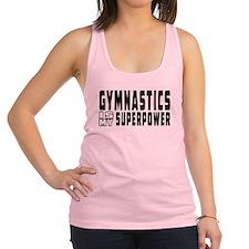 Gymnastics Is My Superpower Racerback Tank Top