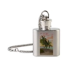 ddi_galaxy_s3_case_829_V_F Flask Necklace