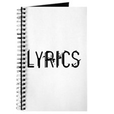 Funny Lyric Journal