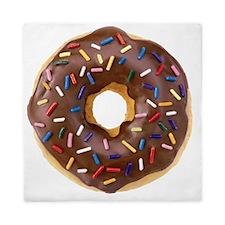 Doughnut Lovers Queen Duvet