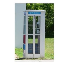 Phone Booth Postcards (Package of 8)