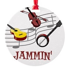Jammin Bluegrass Country Folk Ornament