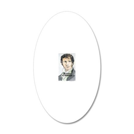 Mr Darcy Of Pemberley 20x12 Oval Wall Decal