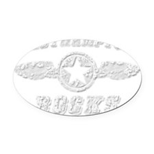 WESTHAMPTON ROCKS Oval Car Magnet