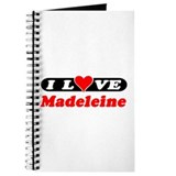I Love Madeleine Journal