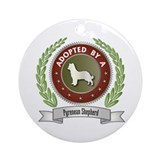 Pyrenean Adopted Ornament (Round)