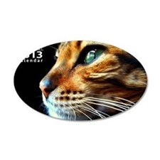 Cover Bengal Cat Close up Wall Decal