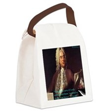 George Handel Canvas Lunch Bag