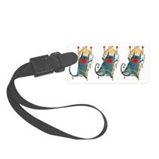 Cat Nap Luggage Tag