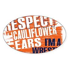 Respect Cauliflower Ears Decal